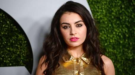 Singer Charli XCX arrives for the GQ Men