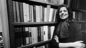 American author and critic Susan Sontag in the