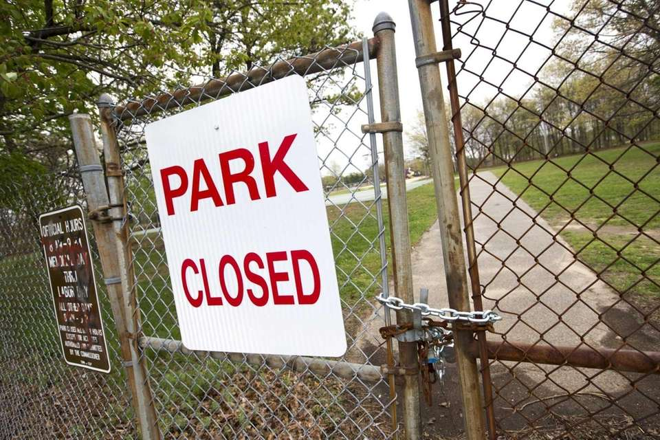 Roberto Clemente Park remained closed as air monitors