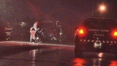 Officials on scene of fatal crash in Greenport