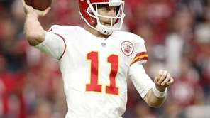 Quarterback Alex Smith of the Kansas City Chiefs