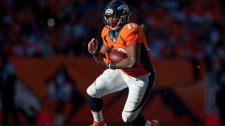 Running back C.J. Anderson of the Denver Broncos