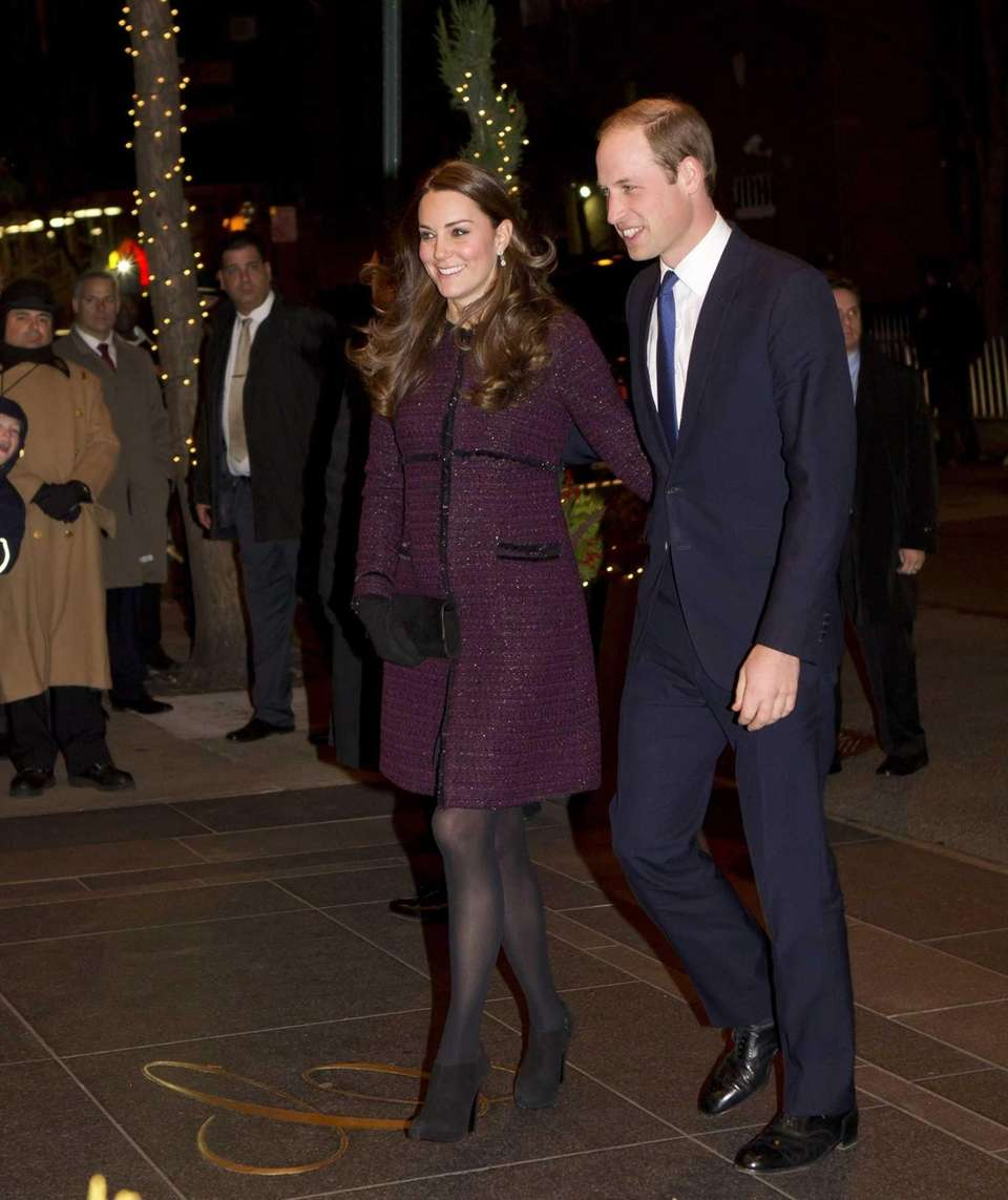 Prince William and Kate Middleton arrive at The