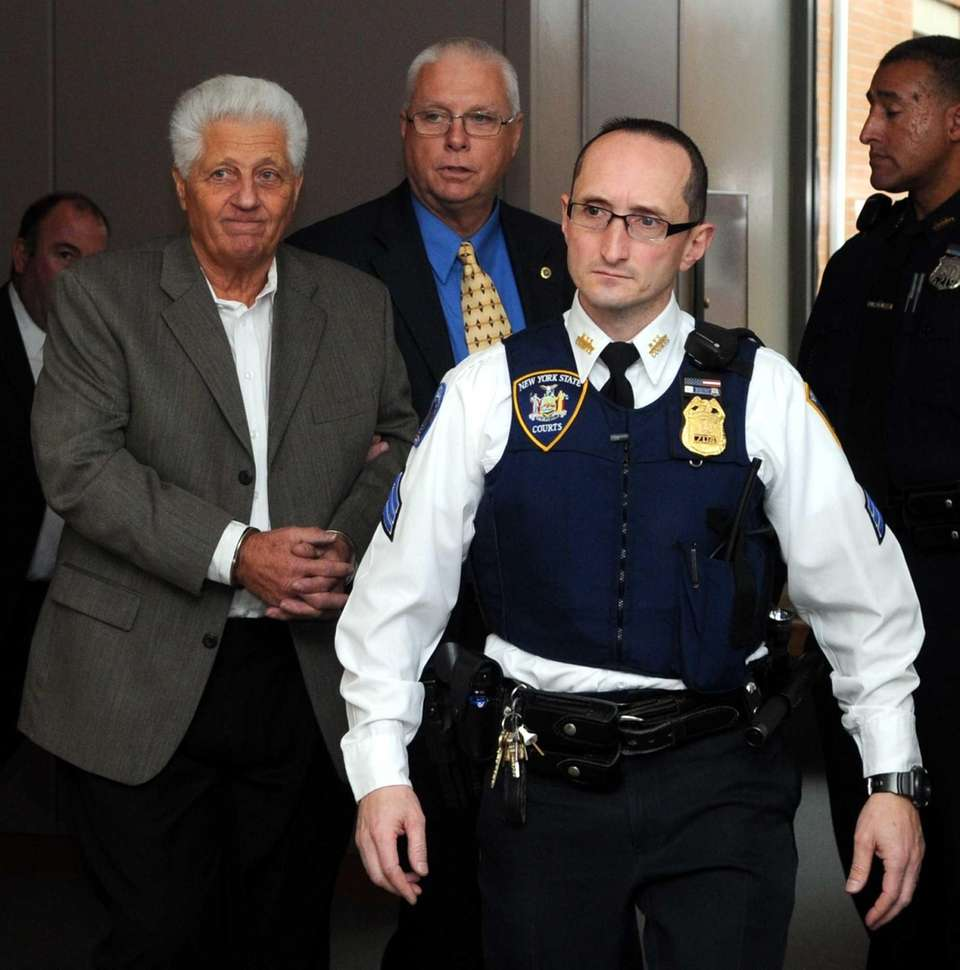 Thomas Datre Sr., left, was indicted on charges