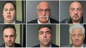 Six people were indicted Monday, Dec. 8, 2014,