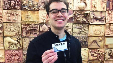 Suffolk County Community College student Evan Feliciano, 21,