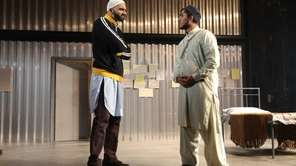 "Usman Ally and Jameal Ali star in ""The"
