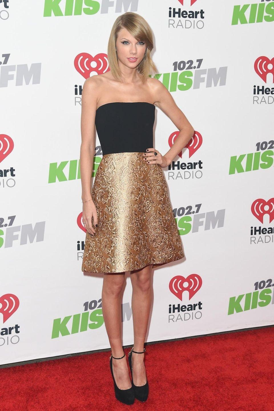 Taylor Swift at 2014 KIIS FM's Jingle Ball