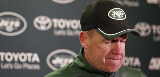 New York Jets head coach Rex Ryan speaks