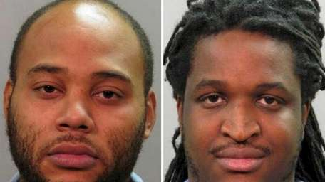 Arthur Sherwood, left, 29, of Brooklyn, was arrested