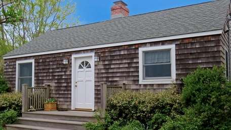 This one bedroom shingled cottage in East Hampton