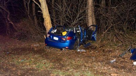 The driver of this Subaru Impreza was pronounced