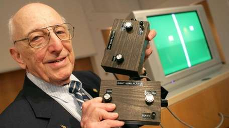 Ralph Baer, a video game pioneer who created
