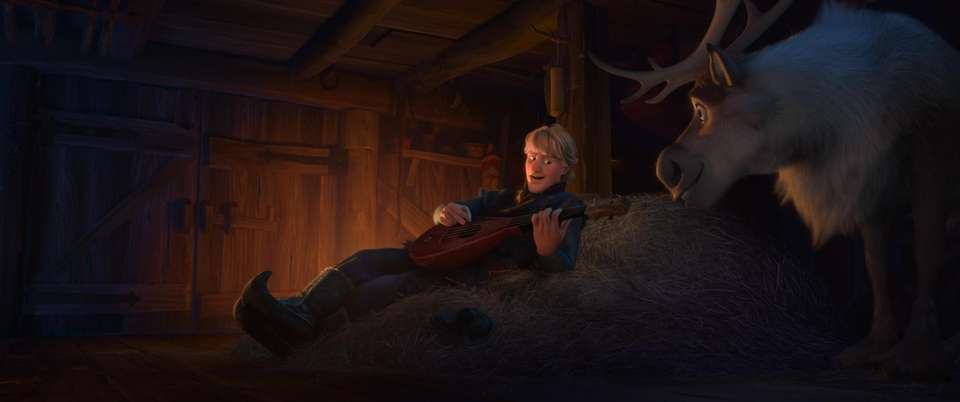 The character of Kristoff was largely influenced by