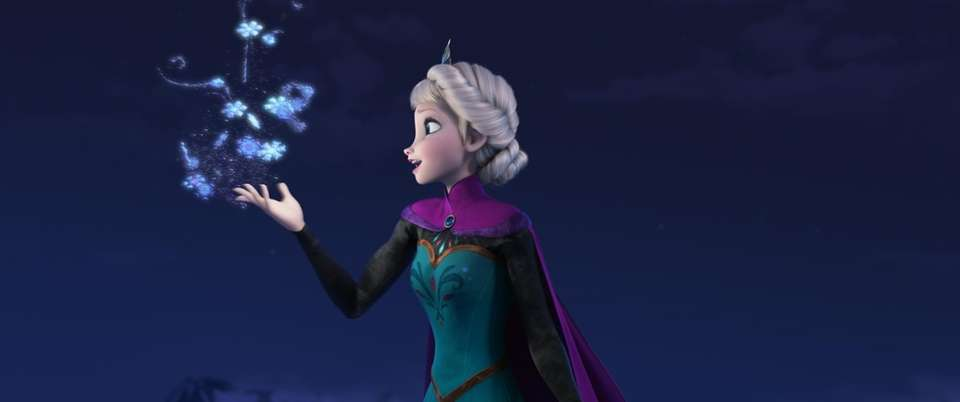 In an effort to perfect Elsa's icy magic,