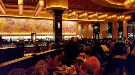 The Cheesecake Factory chain has opened a restaurant