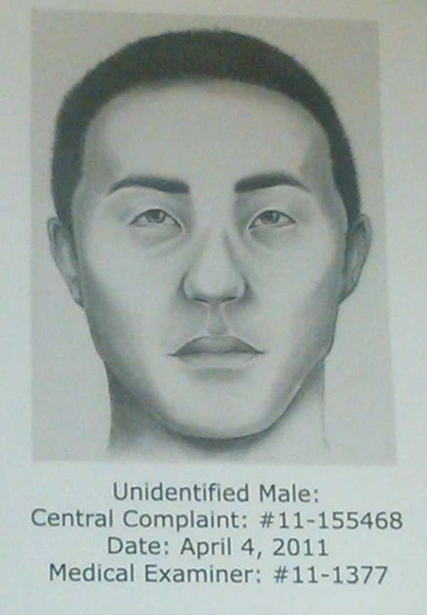 The Suffolk County Police Department released a sketch
