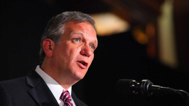 Nassau County Executive Edward Mangano urged legislative leaders