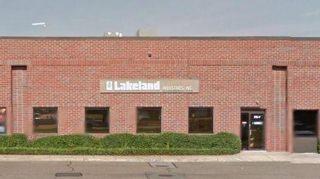 The Ronkonkoma headquarters of Lakeland Industries.