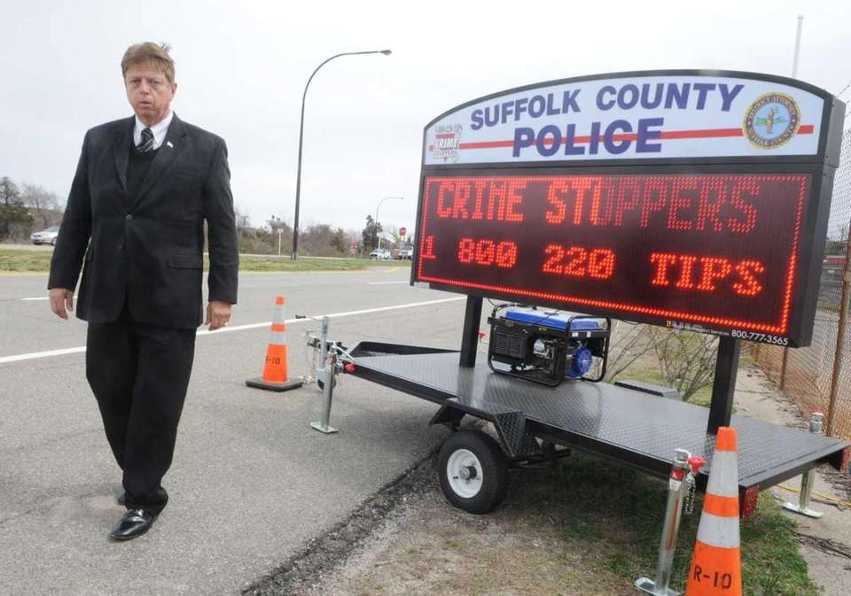 Crime Stoppers in Suffolk County offers its largest