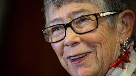Representative Carolyn McCarthy, in the Rayburn Room at