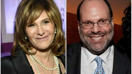 Sony Chair Amy Pascal, on Dec. 10, 2014;