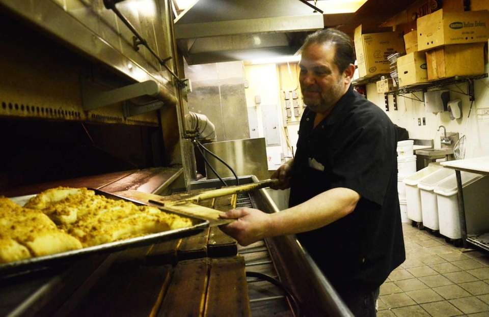 Richard Silvestri, owner of Brendel's Bagels & Eatery