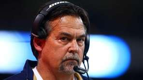 Head coach Jeff Fisher of the St. Louis
