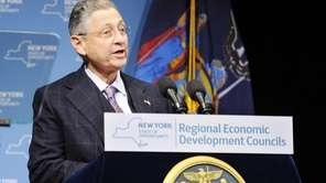 New York Assembly Speaker Sheldon Silver (D-Manhattan), at