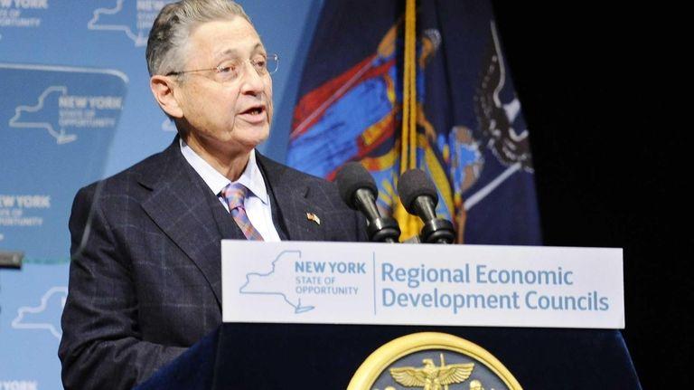 New York Assembly Speaker Sheldon Silver (D-Manhattan), at