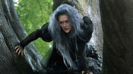 Meryl Streep as The Witch in