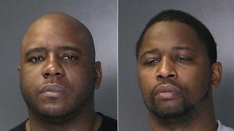 Samuel Spells, left, and Kareem Walters, both 32