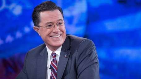 Stephen Colbert on the