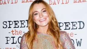 Lindsay Lohan has launched an app in which