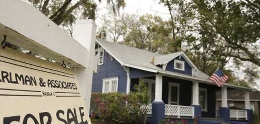 The number of homes on the market rose