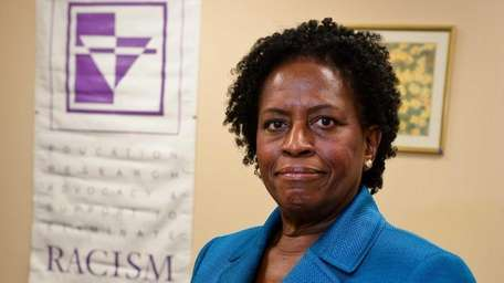 V. Elaine Gross, president of Erase Racism, at