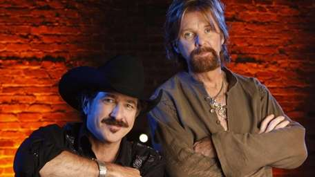 Kix Brooks and Ronnie Dunn of the country