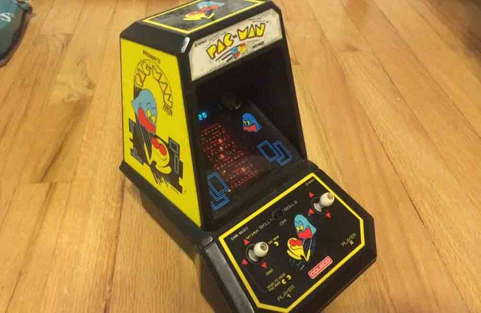 Coleco Industries released this miniature version of the