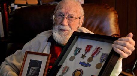 William Mueller, a veteran of the Battle of