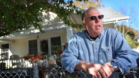 Longtime Huntington Station resident James McGoldrick lives across