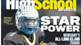 Lawrence's Jordan Fredericks made the cover of Sunday's