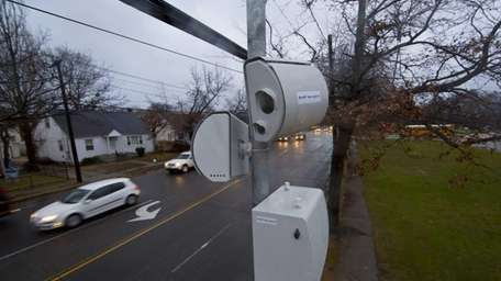 School speed cameras are shown on Jerusalem Avenue