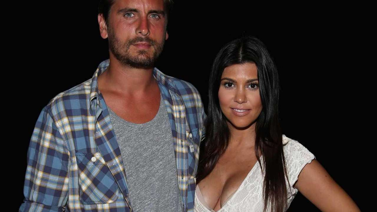 Kourtney Kardashian and Scott Disick attend Women's Health