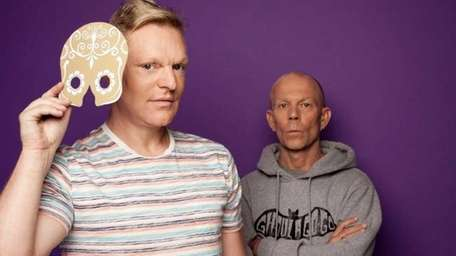 From left, Andy Bell and Vince Clarke of