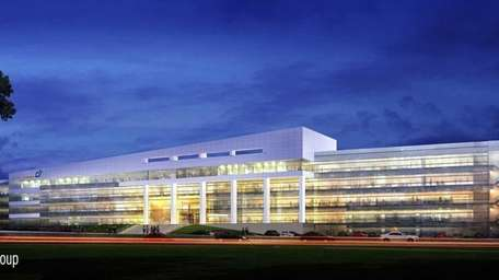 An architect's rendering of Dealertrack's new headquarters.