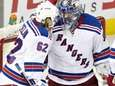 New York Rangers goalie Henrik Lundqvist (30) and
