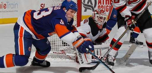 Casey Cizikas #53 of the New York Islanders