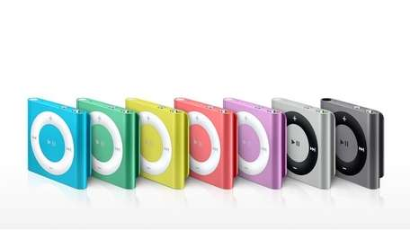 The iPod Shuffle in an undated photo.
