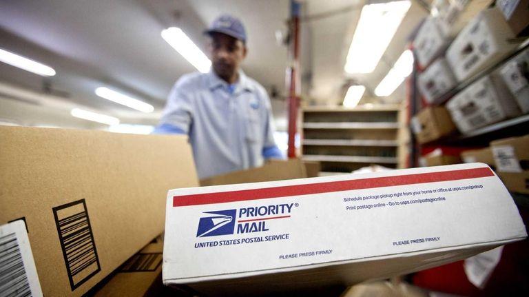 The U.S. Postal Service's priority mail deadline for