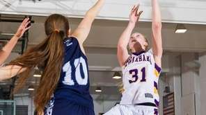 Sewanhaka forward Casey Hayes (31) makes a layup